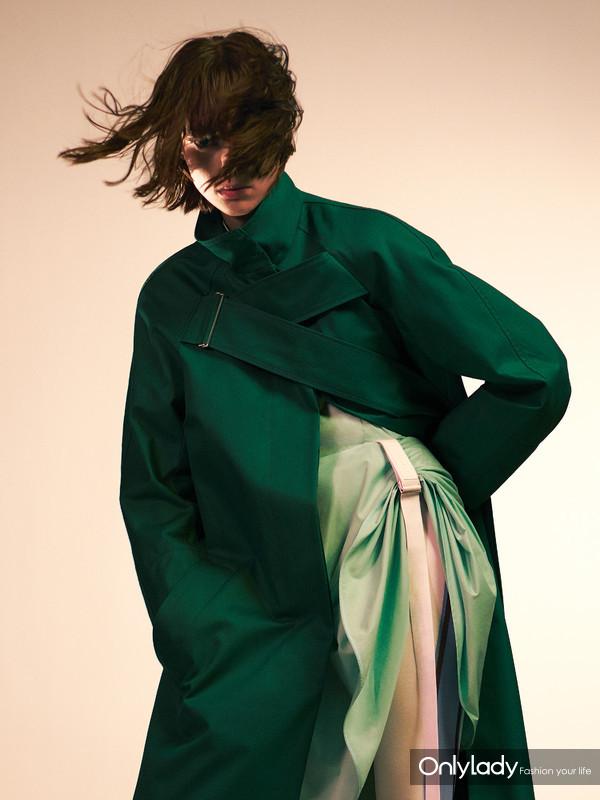 SPORTMAX绿风衣